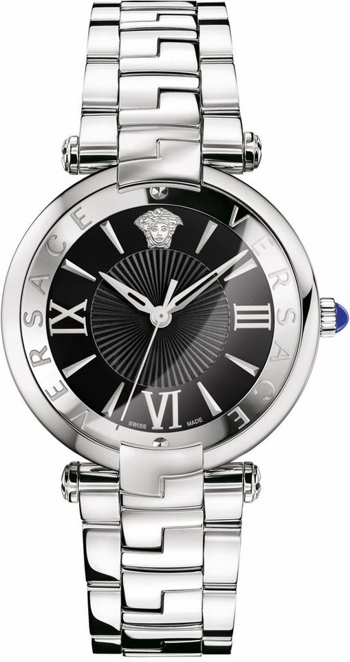 Versace Schweizer Uhr »RÊVIVE, VAI040016« in silberfarben