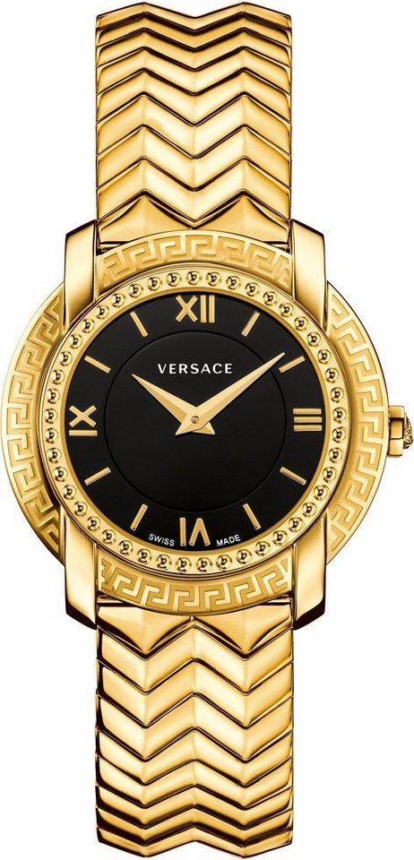 Versace Schweizer Uhr »DV25, VAM050016« in goldfarben