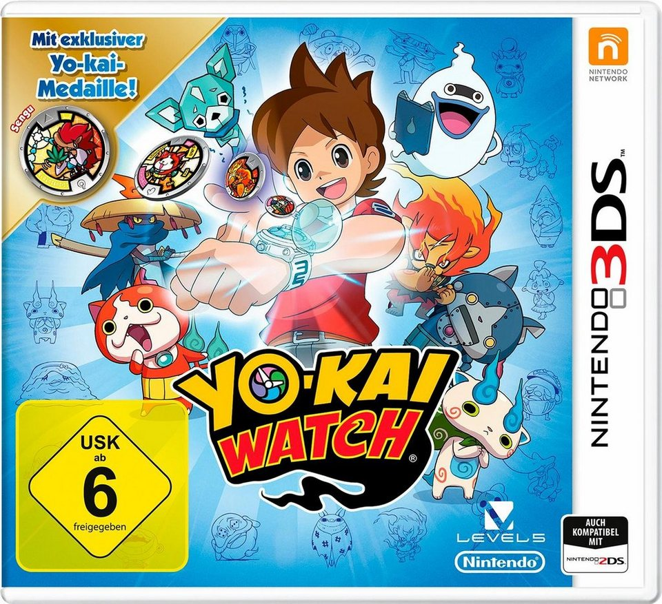 Yo-Kai Watch Special Edition inklusive Medaille Nindendo 3DS
