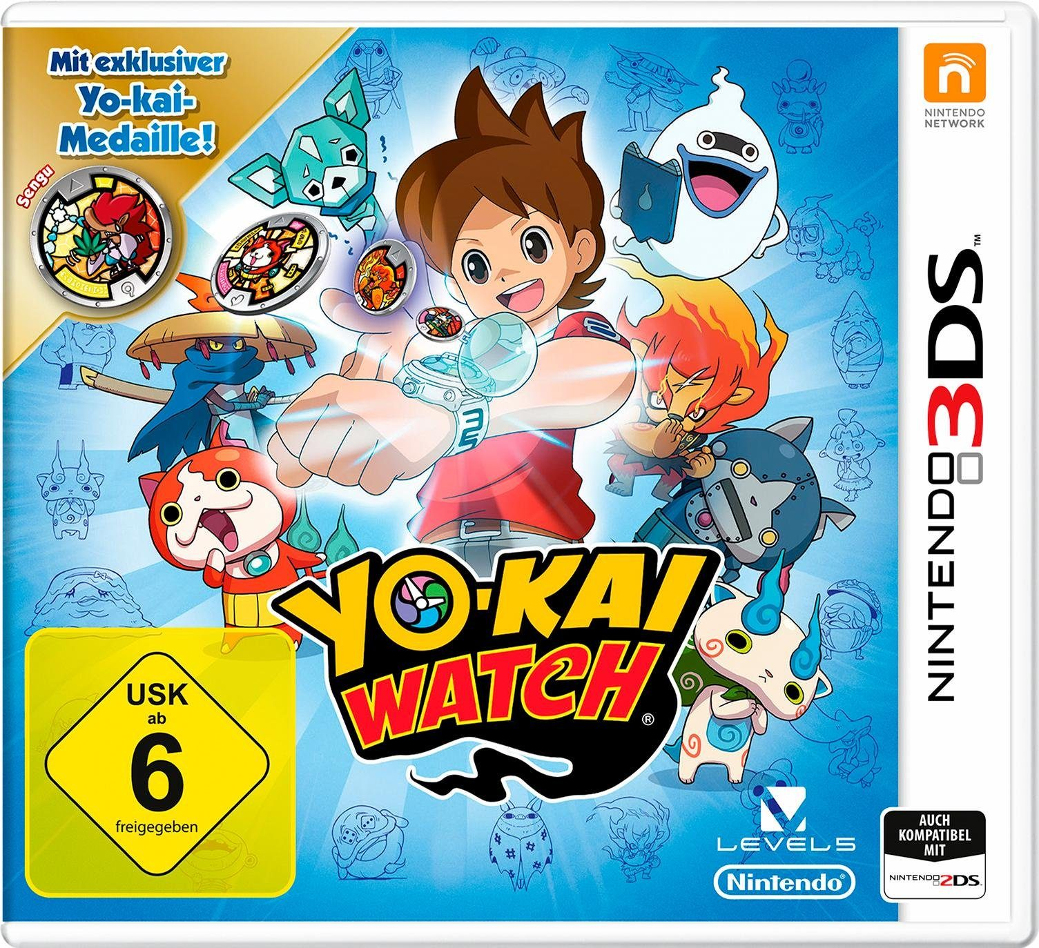 Yo-Kai Watch Special Edition inklusive Medaille 3DS