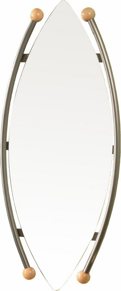 Spiegel in silberfarben