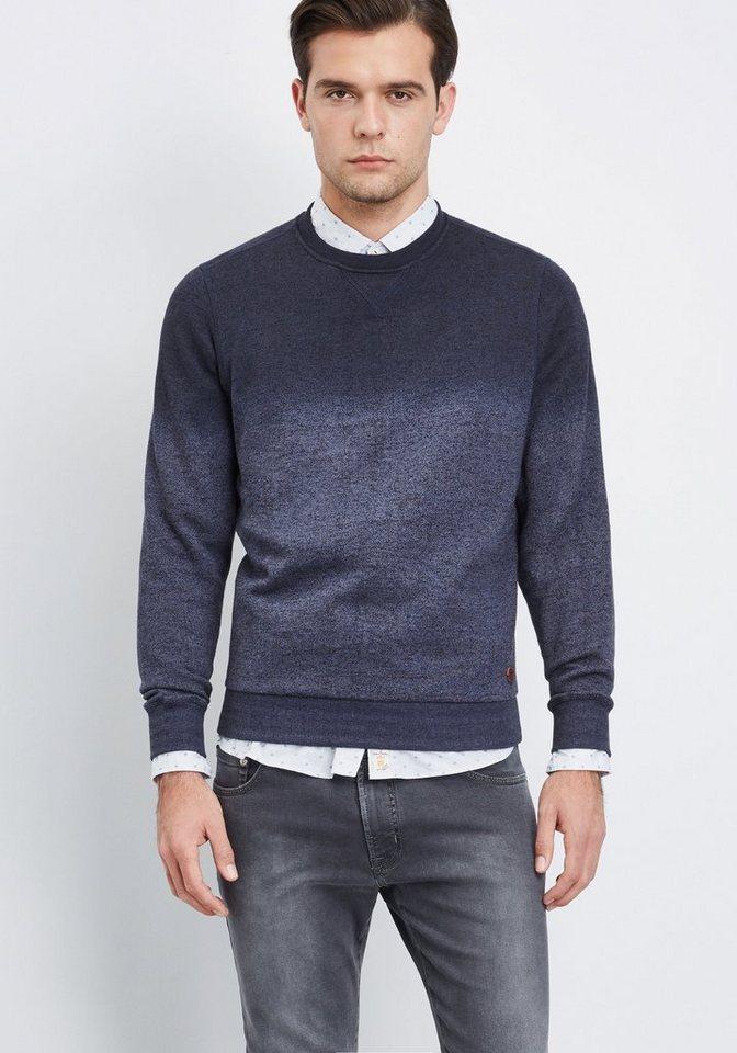 PIERRE CARDIN Sweatshirt in dunkelblau