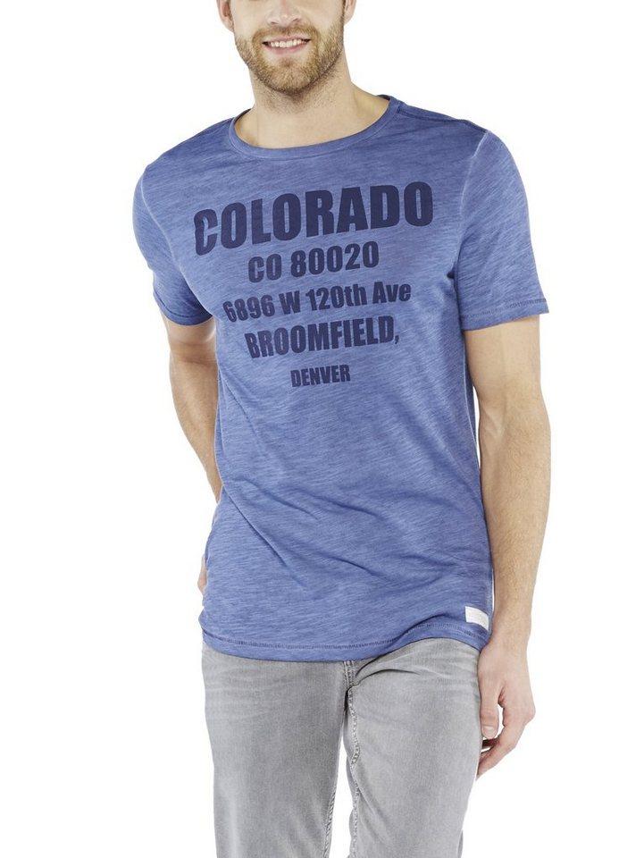 COLORADO DENIM T-Shirt »Rockmond« in nightshadow