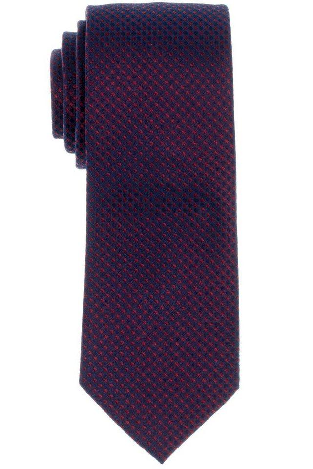 ETERNA Krawatte »breit« in rot