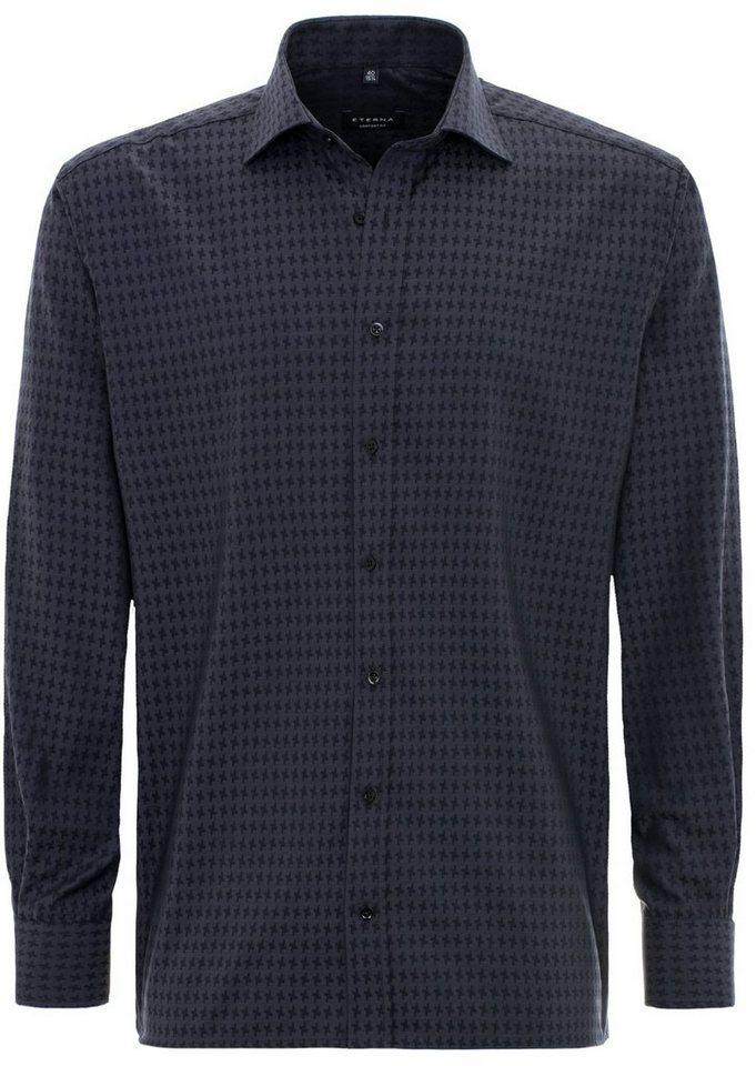 ETERNA Langarm Hemd »COMFORT FIT« in schwarz
