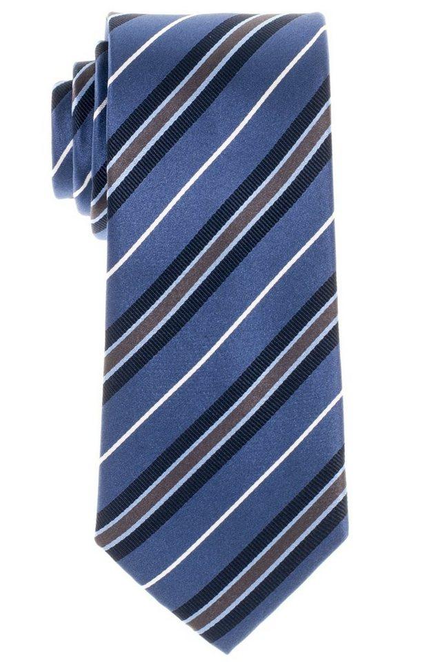 ETERNA Krawatte »breit« in dunkelblau