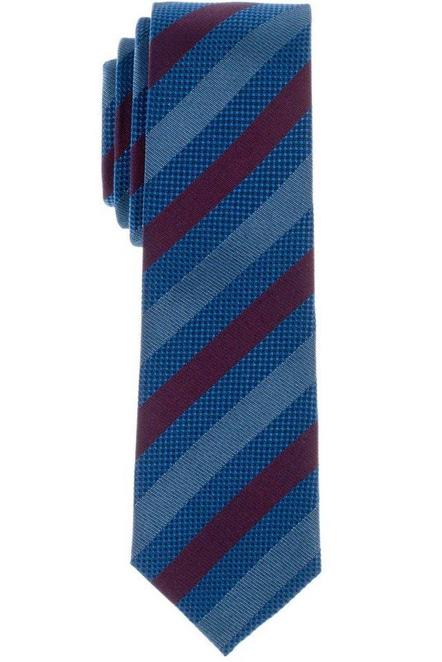 ETERNA Krawatte »schmal« in grün