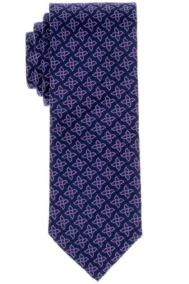 ETERNA Krawatte »breit« in lila