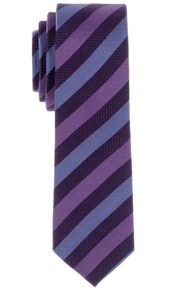 ETERNA Krawatte »schmal« in lila