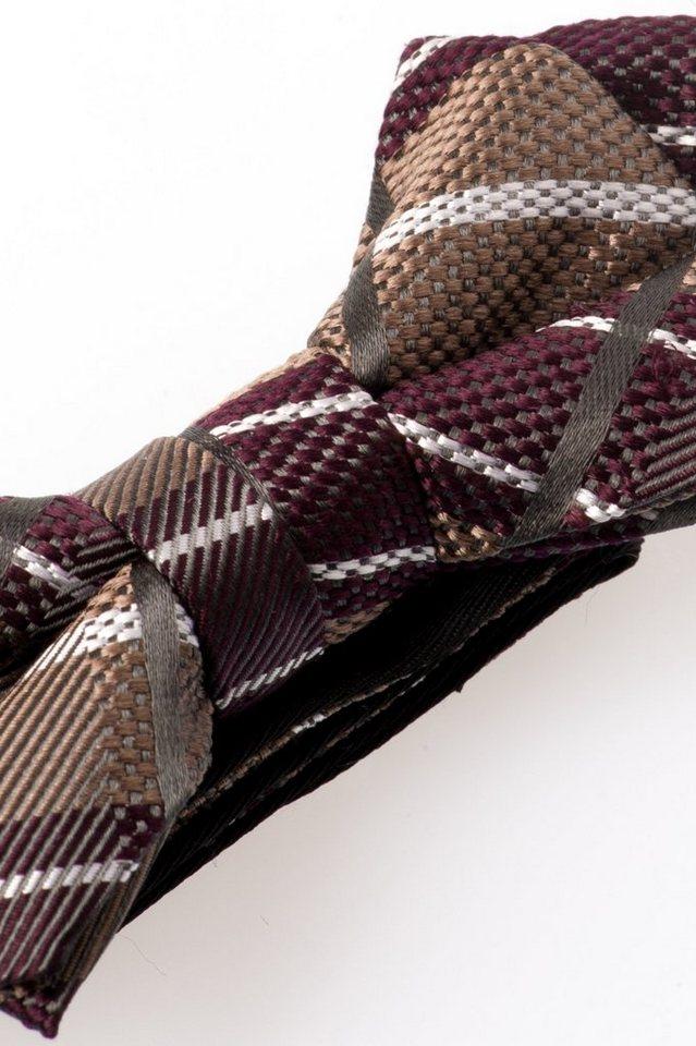 ETERNA Krawatte »Fliege« in rot