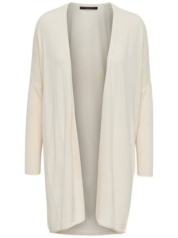 Only Oversize Strick-Cardigan in Cloud Dancer