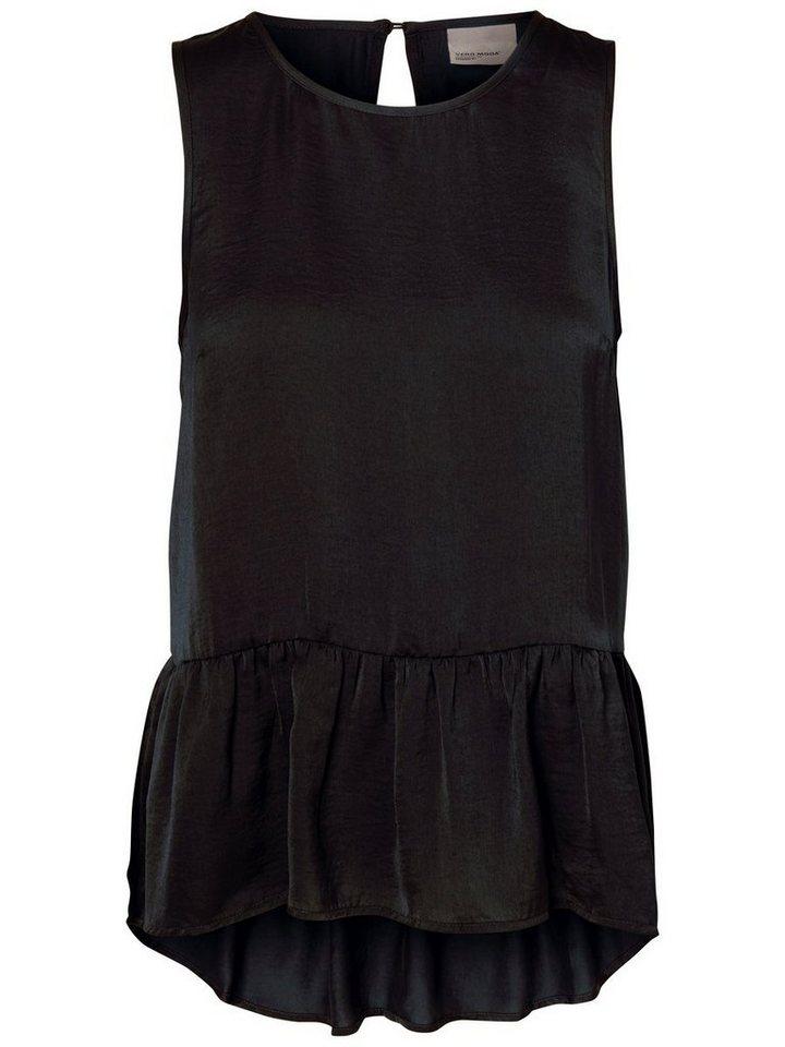 Vero Moda Feminines Oberteil ohne Ärmel in Black