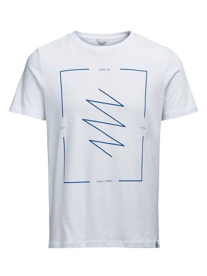 Jack & Jones Grafisches T-Shirt in White
