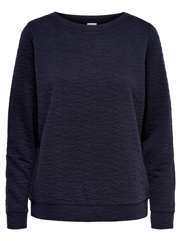 Only Detailliertes Sweatshirt in Sky Captain