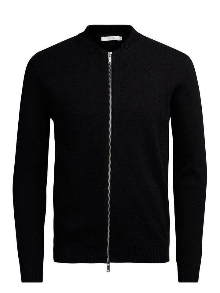 Jack & Jones Blouson Strick- Strickjacke in Black