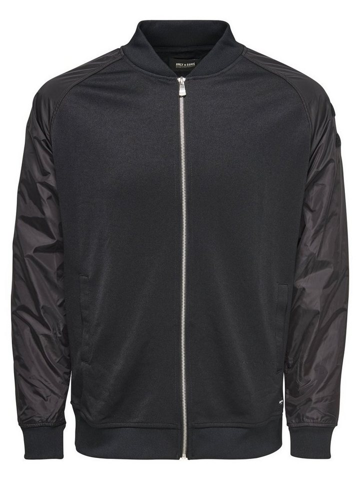 ONLY & SONS Bomber- Jacke in Black