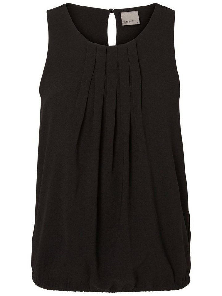 Vero Moda Feminines Oberteil ohne Ärmel in Black 2