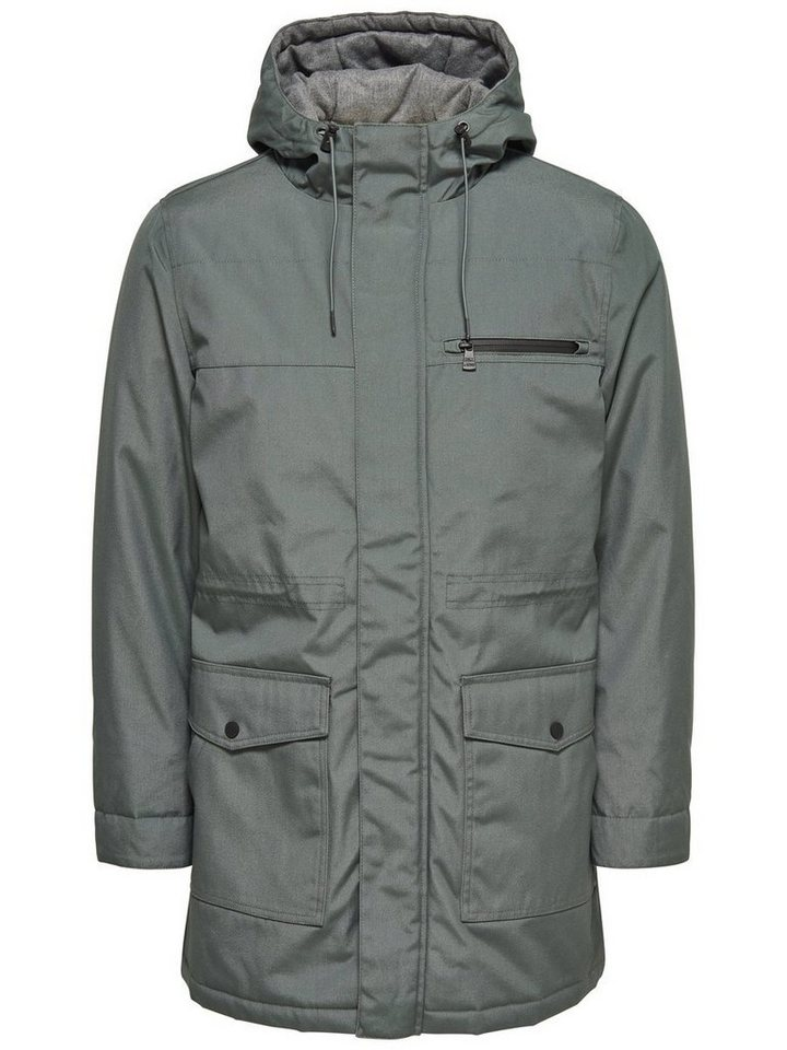 ONLY & SONS Langer Parka in Urban Chic