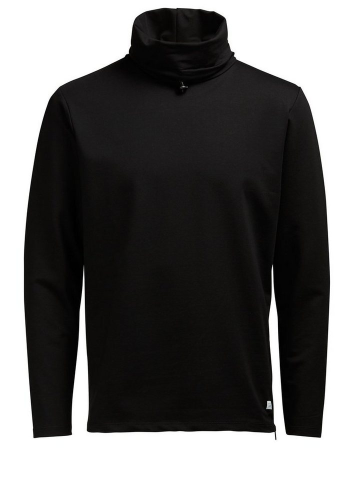 Jack & Jones High-Neck- Sweatshirt in Black