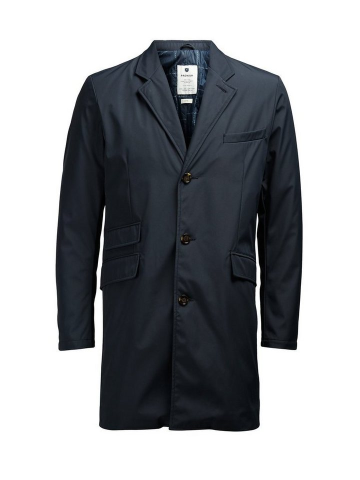 Jack & Jones Markante Regen- Jacke in Dark Navy