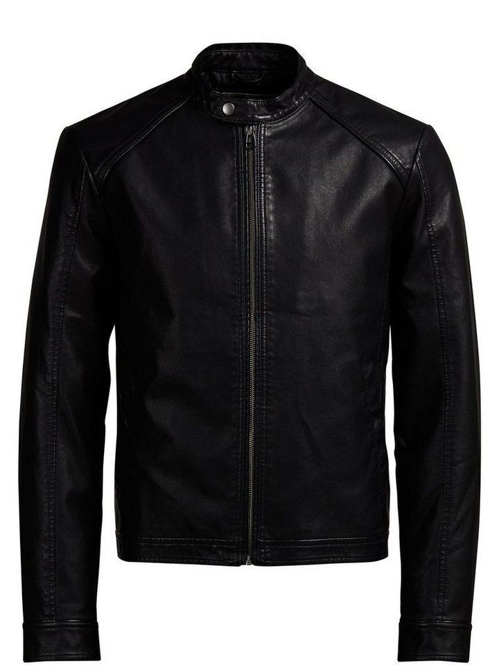 Jack & Jones Biker- Leichte Jacke in Black