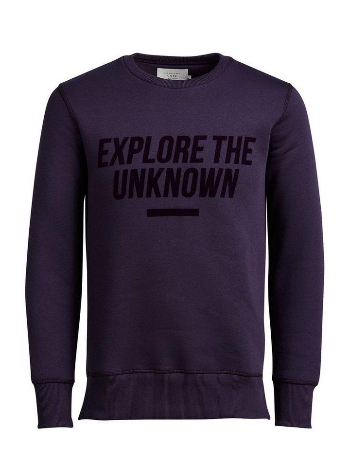 Jack & Jones Grafik- Sweatshirt in Nightshade
