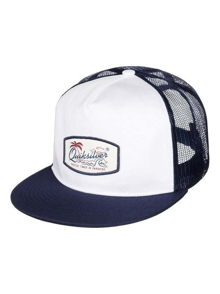 Quiksilver Trucker Cap »Concentrated« in Bright white