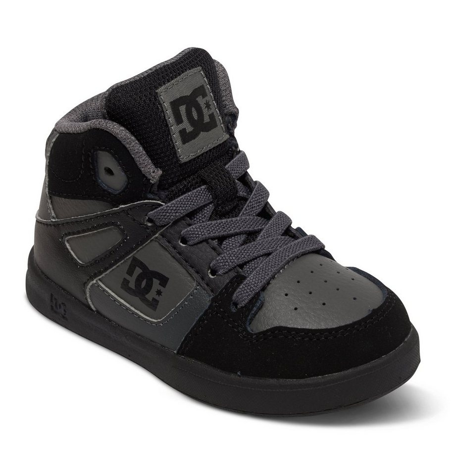 DC Shoes Hi-top »Rebound Ul« in Grey/black/grey