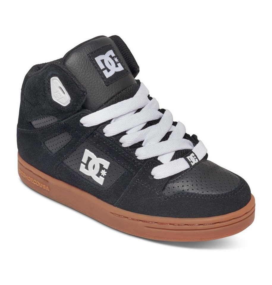 DC Shoes Hi-top »Rebound« in Black/gum