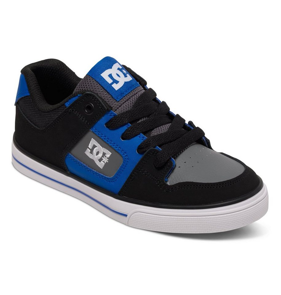 DC Shoes Low top »Pure« in Black/blue/grey