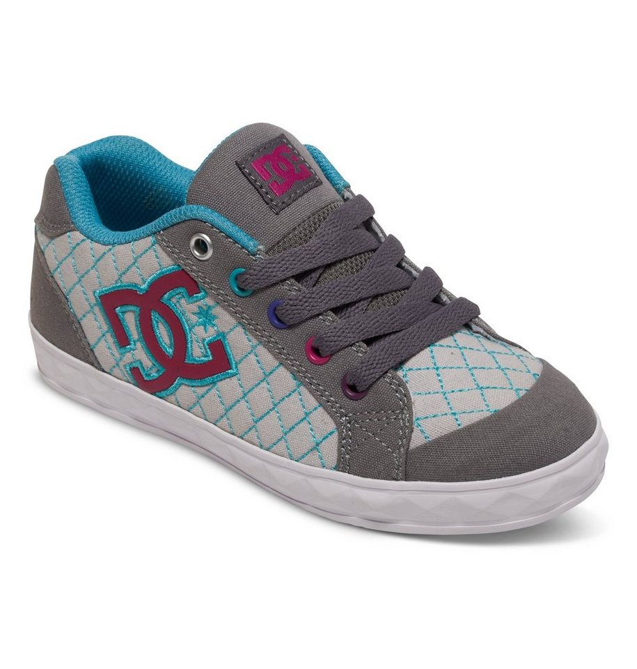DC Shoes Low top »Chelsea Stud« in Grey/grey/blue