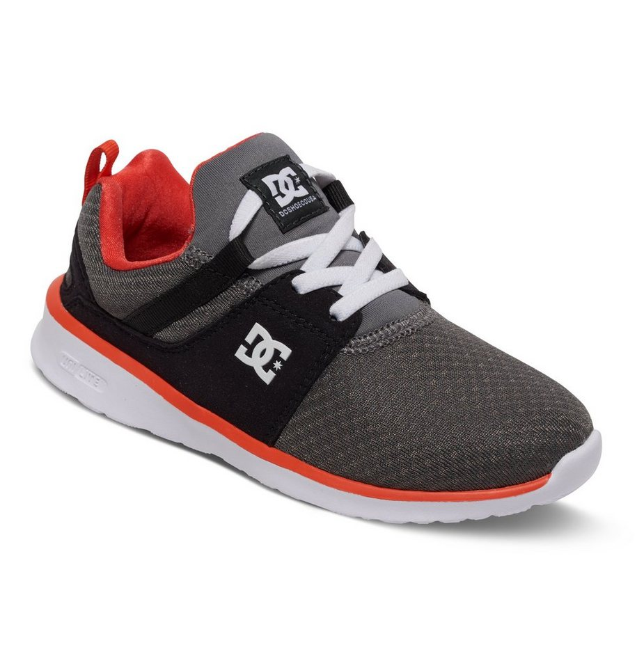 DC Shoes Low top »Heathrow« in Grey/orange/grey