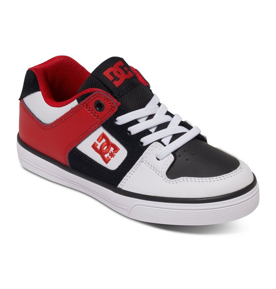 DC Shoes Low top »Pure Elastic« in White/black/red