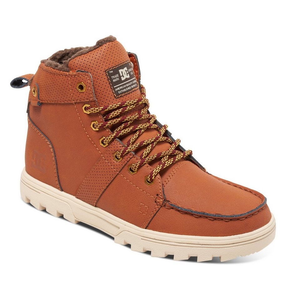 DC Shoes Outdoor-Schuhe »Woodland« in Burnt henna/white