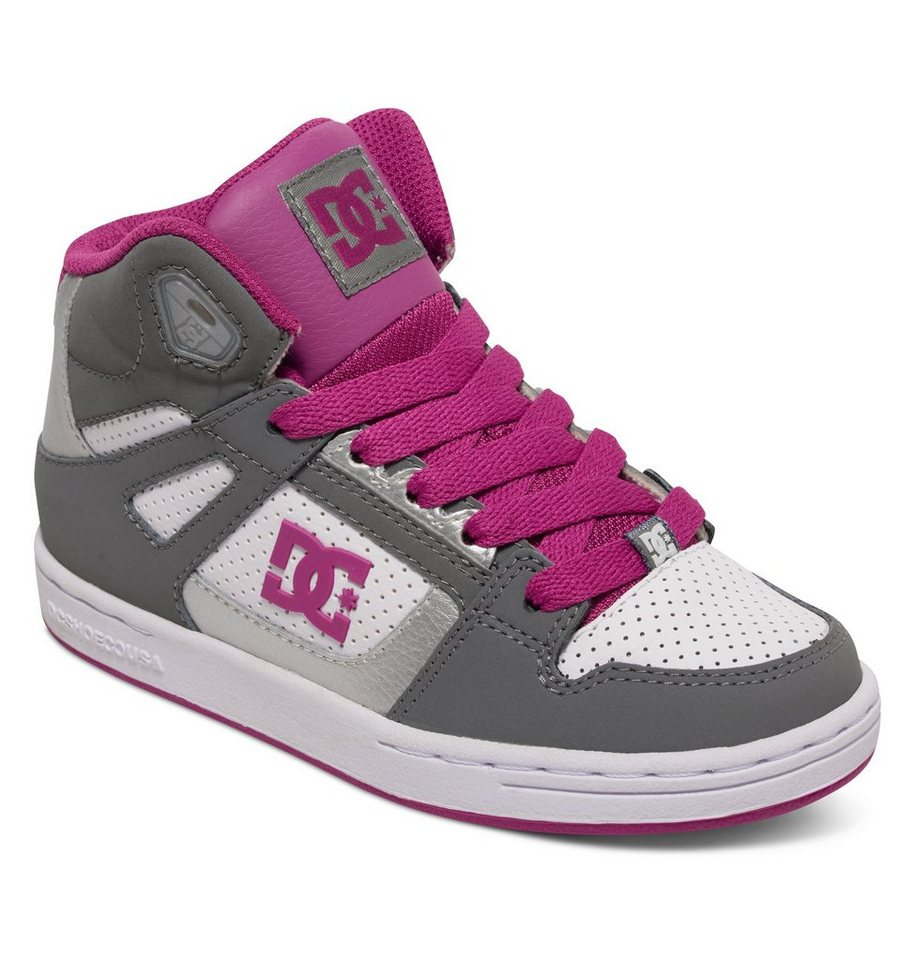 DC Shoes Hi-top »Rebound« in Lt grey/purple