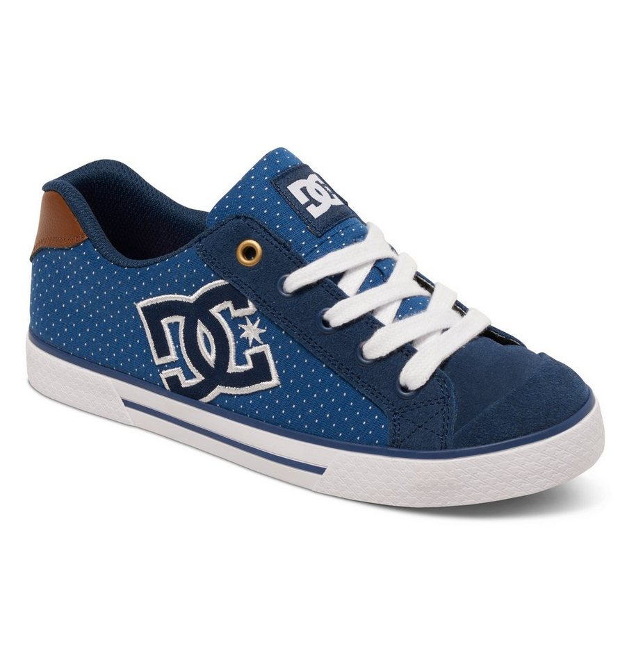 DC Shoes Low top »Chelsea SE« in Blue/brown/white