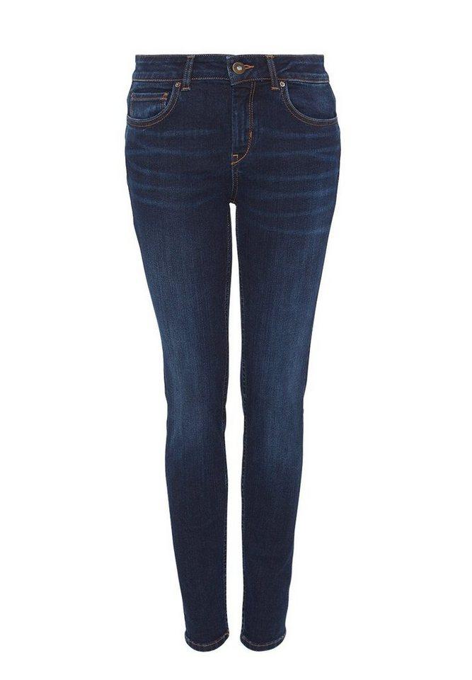 HALLHUBER Skinny-Jeans in dark blue denim