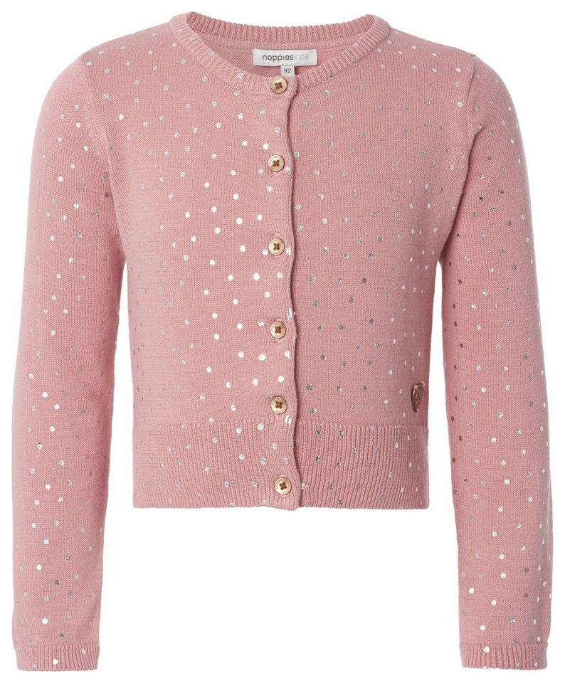 NOPPIES Strickjacke »Cheshire« in Rose