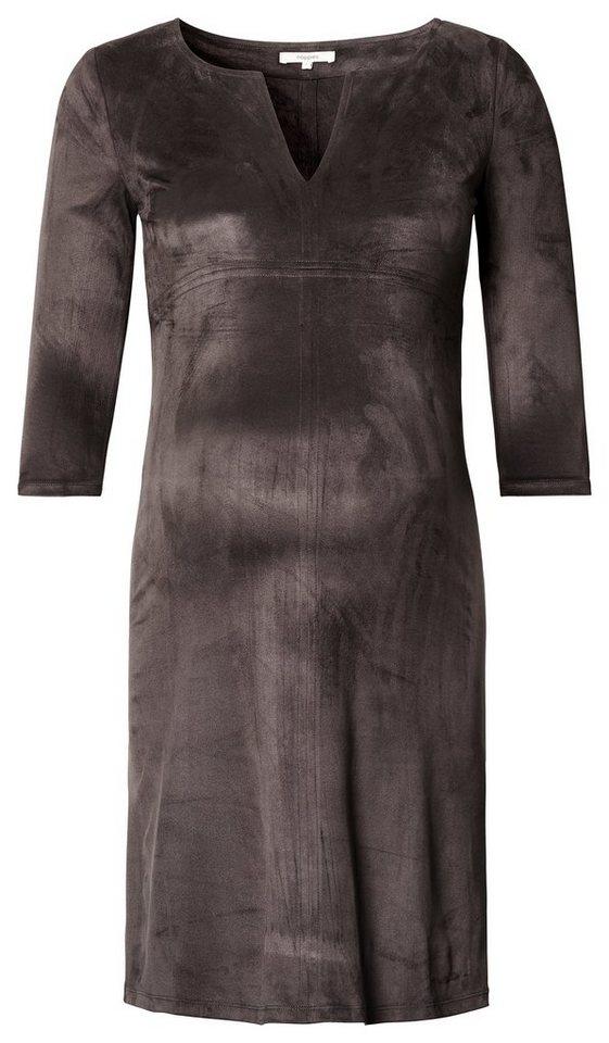 NOPPIES Kleid »Silje« in Charcoal