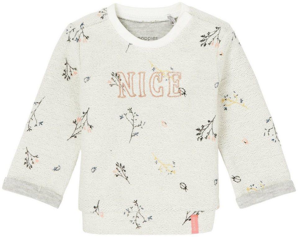 NOPPIES Sweater »Chester« in Birch