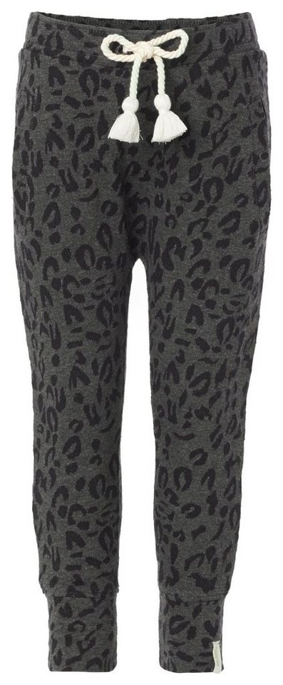 NOPPIES Jogginghose »Abilene« in Charcoal melange