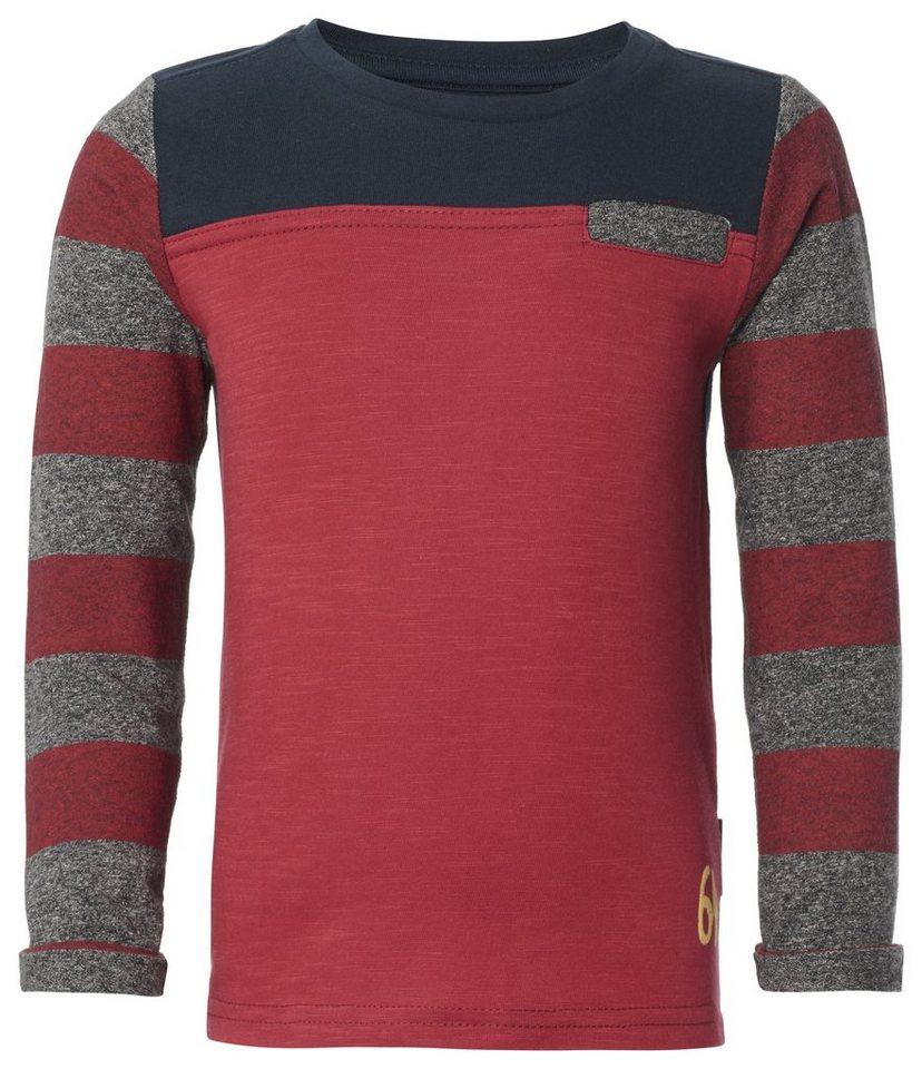 NOPPIES Langarmshirt »Albion« in Medium Red