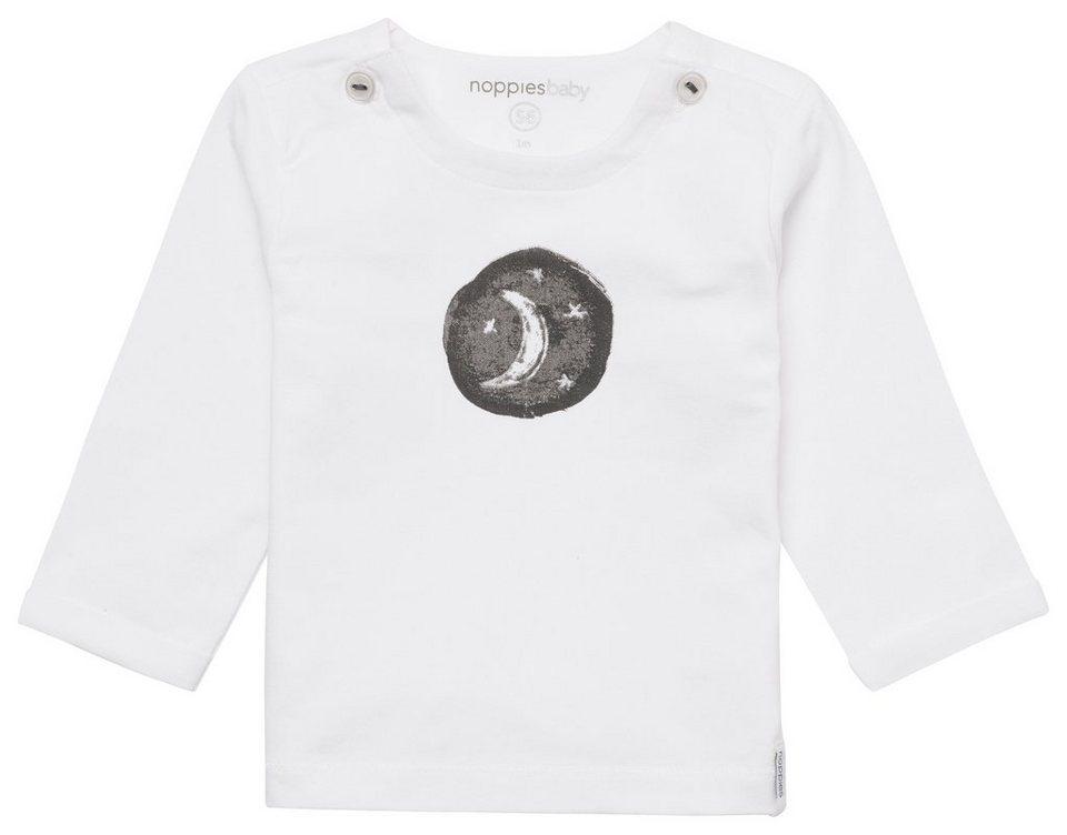 NOPPIES Langarmshirt »Arlington« in White