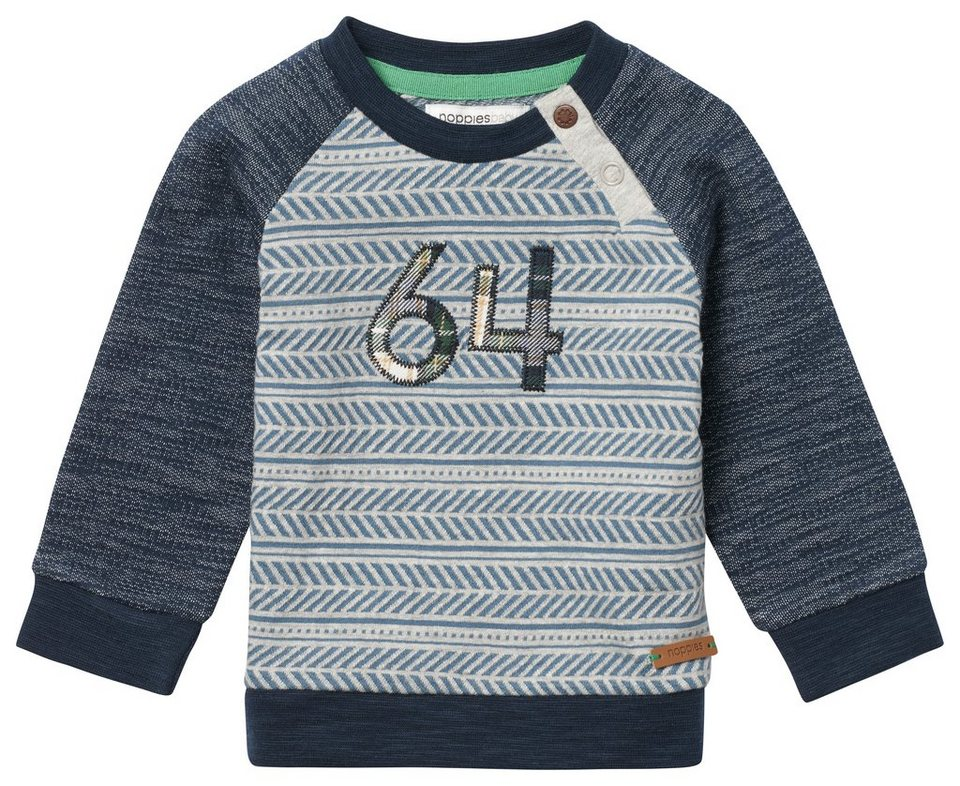 NOPPIES Sweater »Bonham« in Teal
