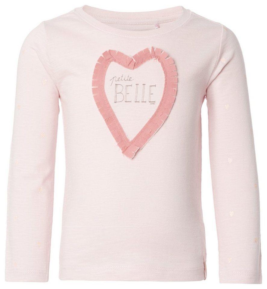 NOPPIES Langarmshirt »Abbeville« in Light Pink