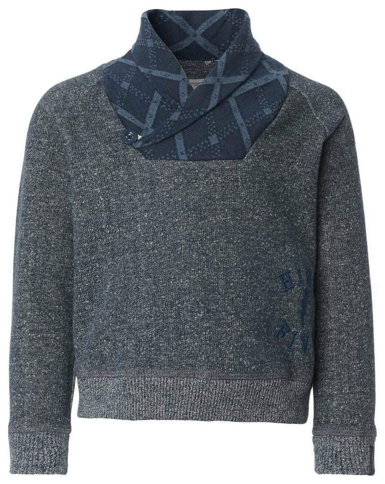 NOPPIES Sweater »Beacon« in Dark Blue