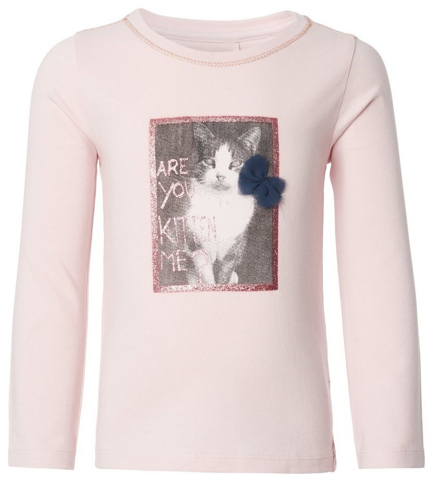 NOPPIES Langarmshirt »Alice« in Light Pink