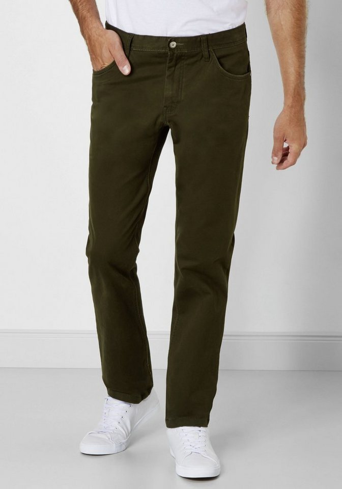 Redpoint Stretch 5-Pocket »Ontario« in green