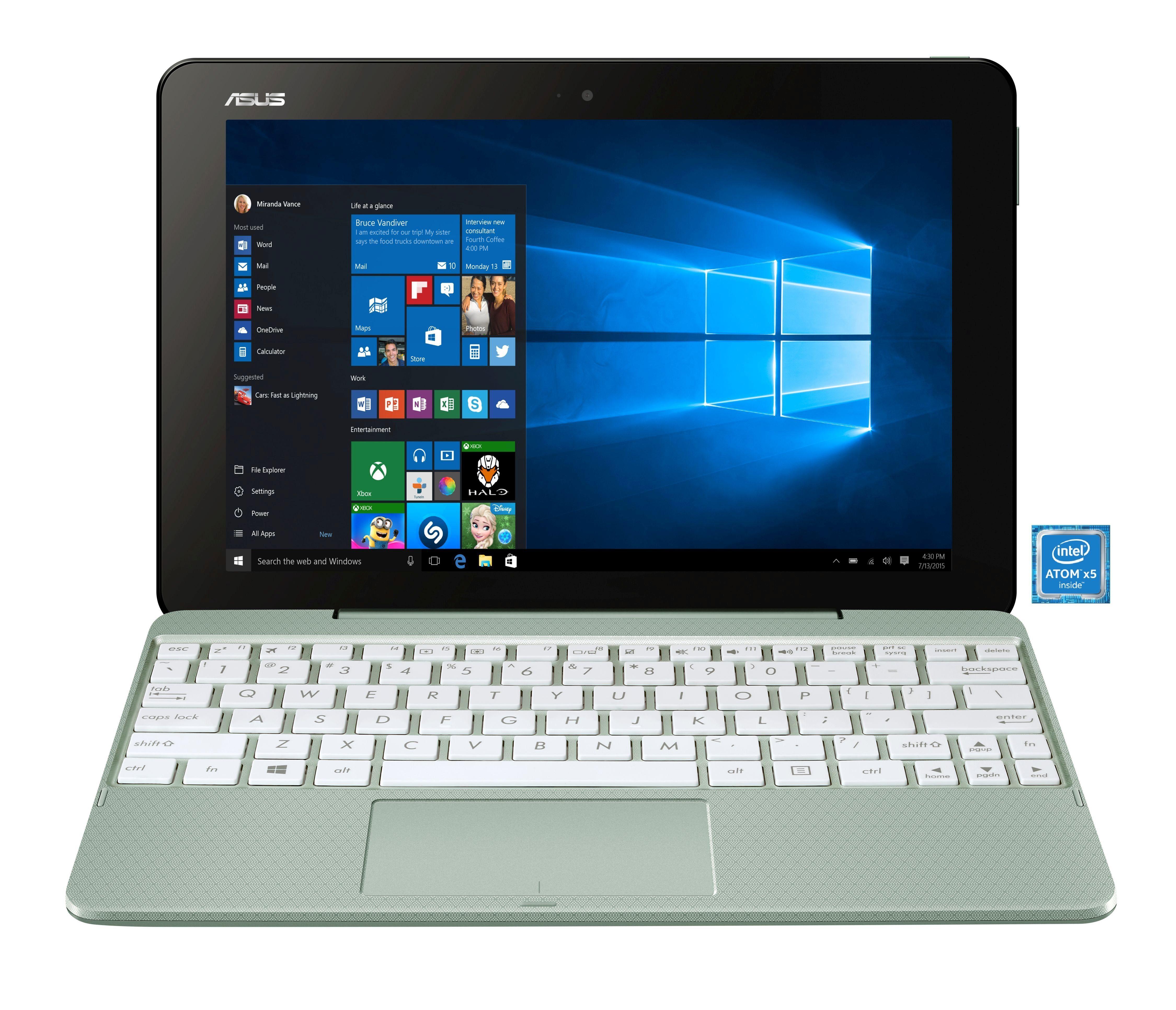 """ASUS T101HA-GR003T Notebook »Intel Atom x5-Z8350, 25,7cm (10,1""""), 32 GB, 2 GB«"""