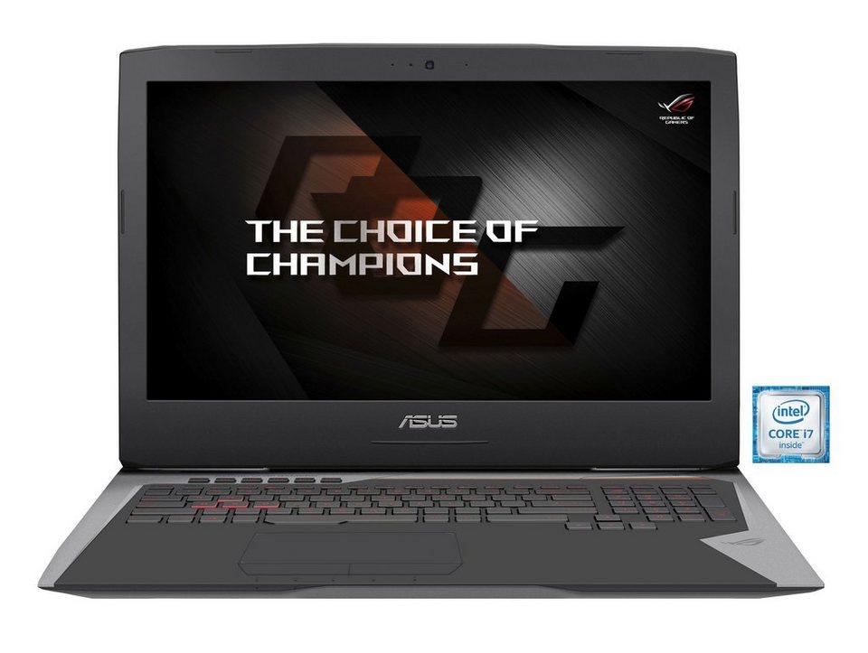 "ASUS G752VS-BA206T ROG Gaming Notebook »Intel Core i7, 43,9cm (17,3""), 256 GB + 1 TB, 8 GB« in grau"